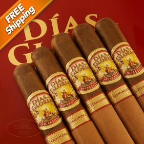 Dias De Gloria Gordo Pack of 5 Cigars-www.cigarplace.biz-22