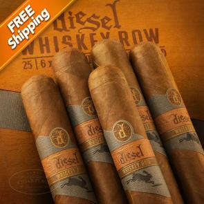 Diesel Whiskey Row Gigante Pack of 5 Cigars-www.cigarplace.biz-21