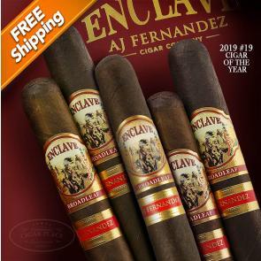Enclave Broadleaf by AJ Fernandez Churchill Pack of 5 Cigars 2019 #19 Cigar of the Year-www.cigarplace.biz-22