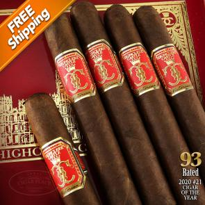 Highclere Castle Victorian Toro Pack of 5 Cigars 2020 #21 Cigar of the Year-www.cigarplace.biz-21