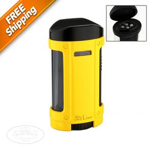 JetLine Bugle Master Quad Torch Lighter Yellow-www.cigarplace.biz-22