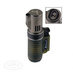 JetLine Pocket Torch Double Flame Cigar Lighter Hunter Green-www.cigarplace.biz-22