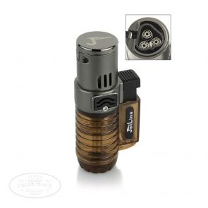 JetLine Super Torch Triple Flame Cigar Lighter Brown-www.cigarplace.biz-22