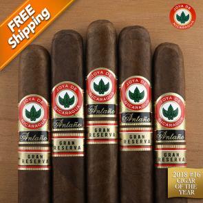 Joya de Nicaragua Antano Gran Reserva Robusto Grande Pack of 5 Cigars 2018 #16 Cigar of the Year-www.cigarplace.biz-23