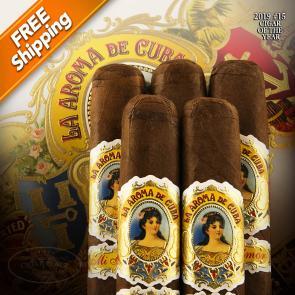 La Aroma De Cuba Mi Amor Churchill Pack of 5 Cigars 2019 #15 Cigar of the Year-www.cigarplace.biz-22