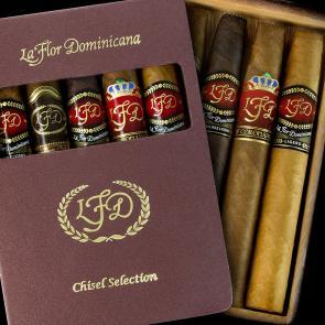 La Flor Dominicana Selection Chisel Sampler Cigars-www.cigarplace.biz-21