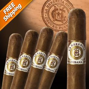 La Herencia Cubana Toro Pack of 5 Cigars-www.cigarplace.biz-21