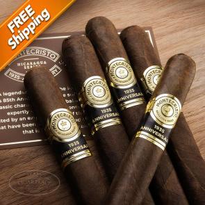 Montecristo 1935 Anniversary Nicaragua Demi Pack of 5 Cigars-www.cigarplace.biz-21