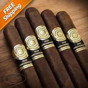 Montecristo 1935 Anniversary Nicaragua Toro Pack of 5 Cigars-www.cigarplace.biz-21