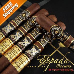 Montecristo Espada Oscuro Guard Pack of 5 Cigars-www.cigarplace.biz-21