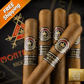 Montecristo Nicaragua Series Robusto Pack of 5 Cigars 2018 #10 Cigar of the Year-www.cigarplace.biz-22