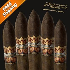 Natural Dirt Torpedo Pack of 5 Cigars-www.cigarplace.biz-21