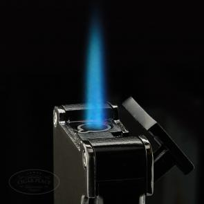 Lotus Duet Torch Lighter Gunmetal-www.cigarplace.biz-22