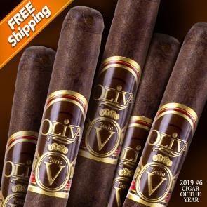 Oliva Serie V Lancero Pack of 5 Cigars 2019 #6 Cigar of the Year-www.cigarplace.biz-21
