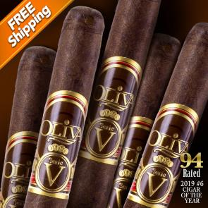 Oliva Serie V Lancero Pack of 5 Cigars 2019 #6 Cigar of the Year-www.cigarplace.biz-24