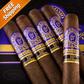 Perdomo Reserve 10th Anniversary Maduro Super Toro Pack of 5 Cigars-www.cigarplace.biz-22
