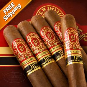 Perdomo Reserve 10th Anniversary Sun Grown Epicure Pack of 5 Cigars-www.cigarplace.biz-21