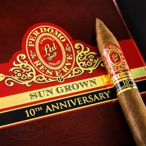 Perdomo Reserve 10th Anniversary Sun Grown Torpedo Cigars-www.cigarplace.biz-21