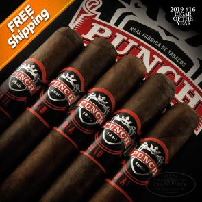 Punch Diablo Scamp Pack of 5 Cigars 2019 #16 Cigar of the Year-www.cigarplace.biz-21
