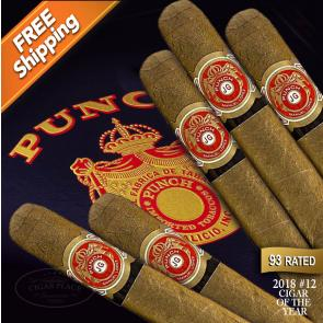 Punch Natural After Dinner Pack of 5 Cigars 2018 #12 Cigar of the Year-www.cigarplace.biz-22