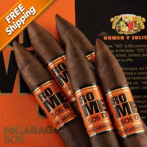 Romeo 505 Nicaragua Piramide Pack of 5 Cigars-www.cigarplace.biz-21