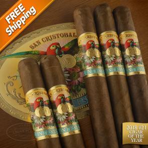 San Cristobal Quintessence Corona Gorda Pack of 5 Cigars 2018 #21 Cigar of the Year-www.cigarplace.biz-21