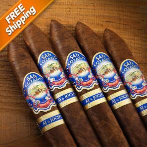 San Lotano Dominicano Torpedo Box Pressed Pack of 5 Cigars-www.cigarplace.biz-21