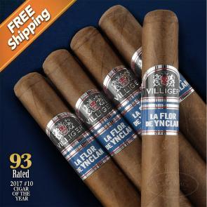 Villiger La Flor de Ynclan Robusto Pack of 5 Cigars 2017 #10 Cigar of the Year-www.cigarplace.biz-22