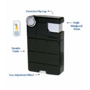Xikar EX Single Flame Windproof Lighter Black-www.cigarplace.biz-24