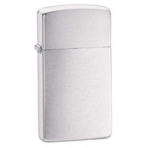 Zippo Slim Lighter (Brushed Chrome)-www.cigarplace.biz-24