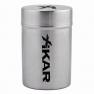 Xikar Stainless Portable Ashtray Can-www.cigarplace.biz-01