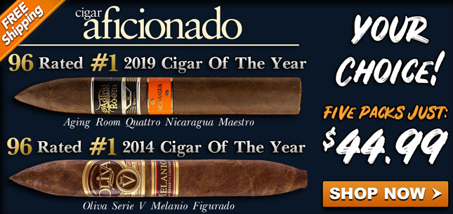 Aging Room Oliva #1 Cigars 44.99