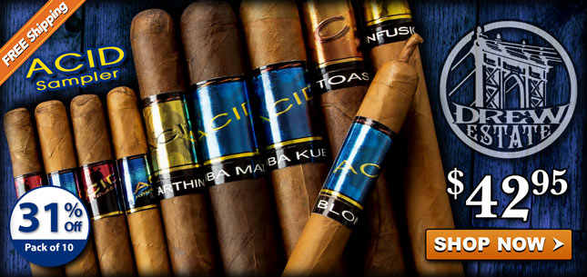 Acid Cigar Sampler 42.95