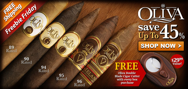 Oliva 45% Off and Free Cutter