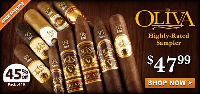 Oliva Highly-Rated Sampler 47.99