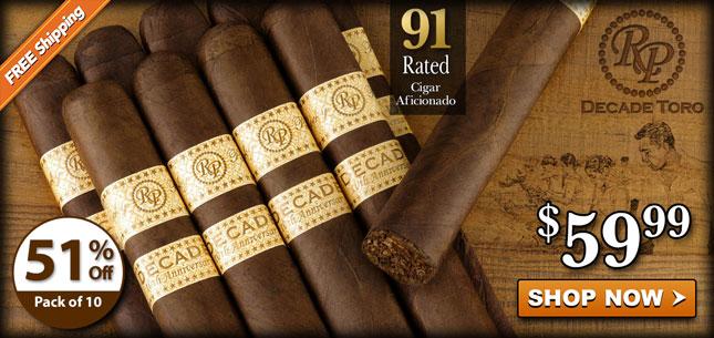 Rocky Patel Decade Toro 59.99