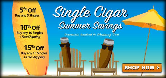 Summer Single Cigar Savings