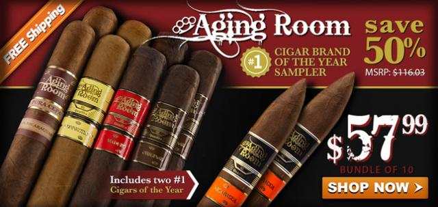 Aging Room Special Selection Sampler