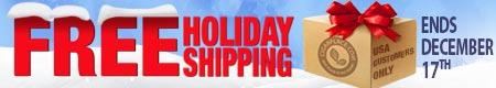 FREE Holiday Shipping