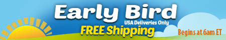 Early Bird Free Shipping